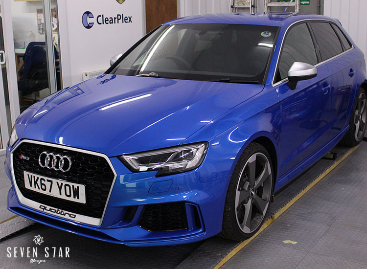 Audi Rs3 Seven Star Wraps Paint Protection And Vehicle Wraps
