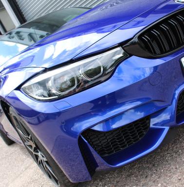 BMW M3 Dark Blue