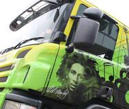 Bob Marley Truck