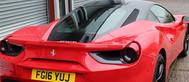 Ferrari 488 Red