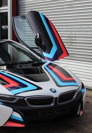BMW i8 Supercar Graphics