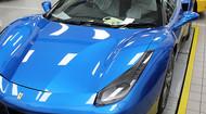 Ferrari 488 Blue