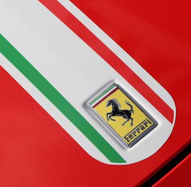 Ferrari 458 Hotrod Red with Italia