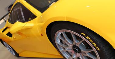 Ferrari 488 Challenge Yellow