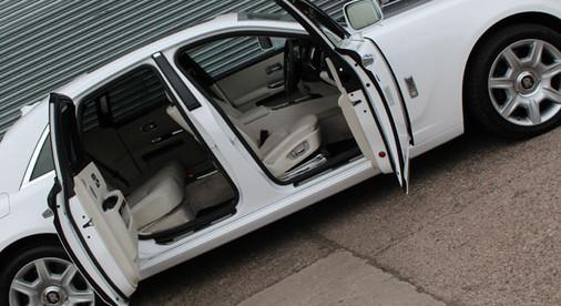 Rolls Phantom White and Grey