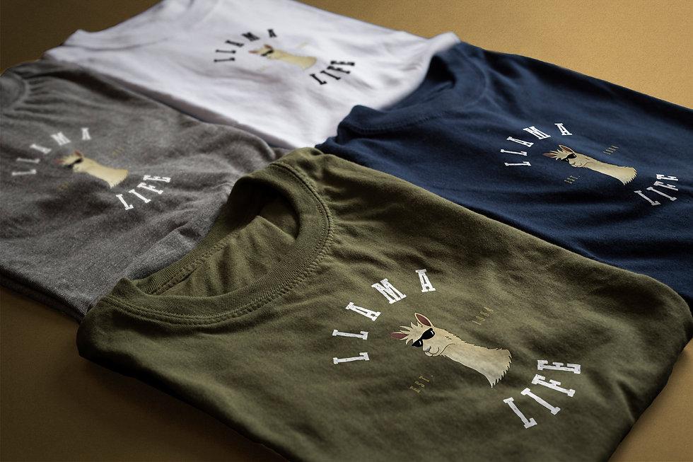 Llama Life T-Shirts