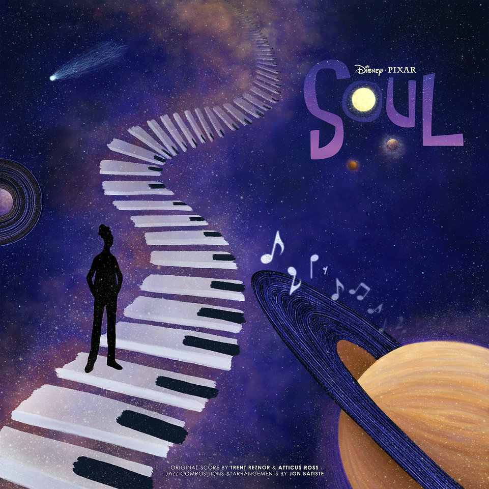 Soul Album Cover Art, Illustration