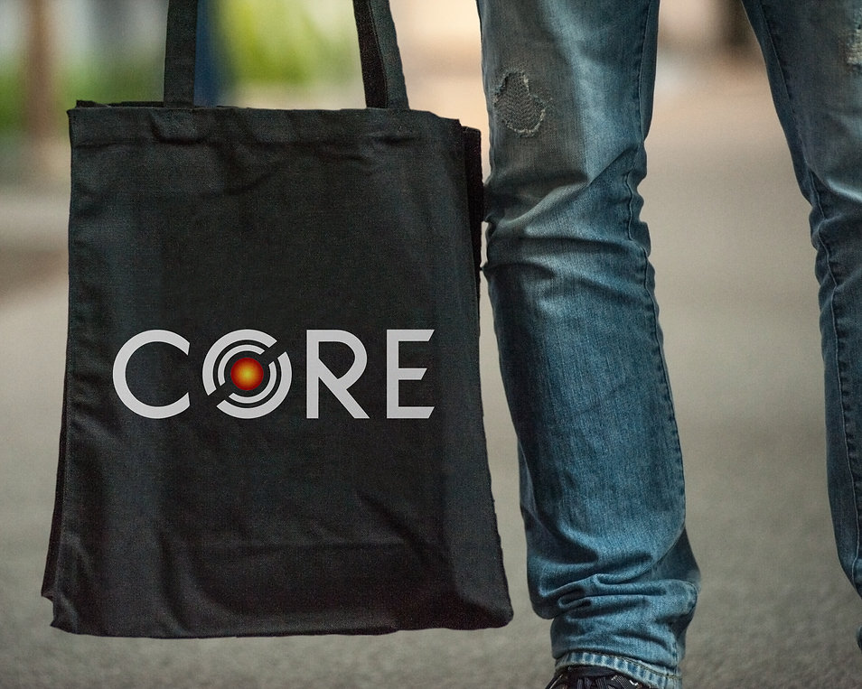 CORE Custom Metal Works Tote Bag Mockup