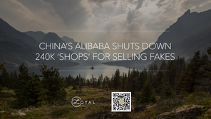 CHINA'S ALIBABA SHUTS DOWN 240K 'SHOPS' FOR SELLING FAKES