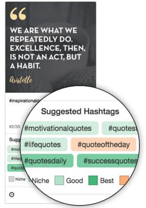 Instagram Hashtag Suggestion tool