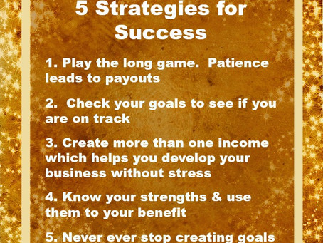 5 Strategies for Success