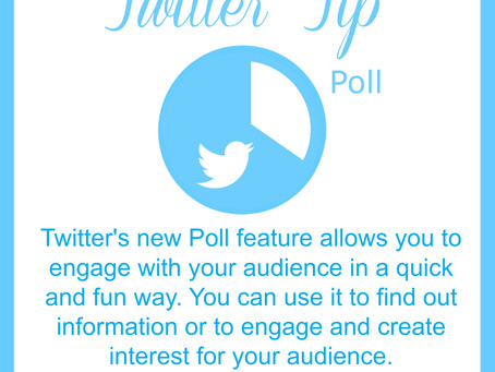 Twitter introduces new Poll Feature.