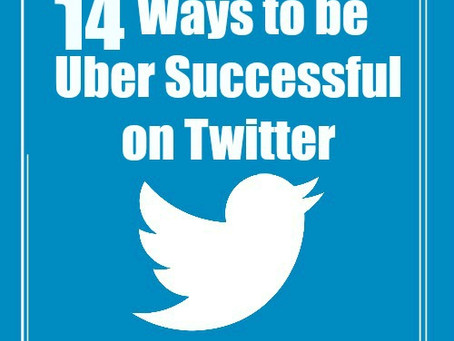 14 Ways to be UBER Successful on Twitter