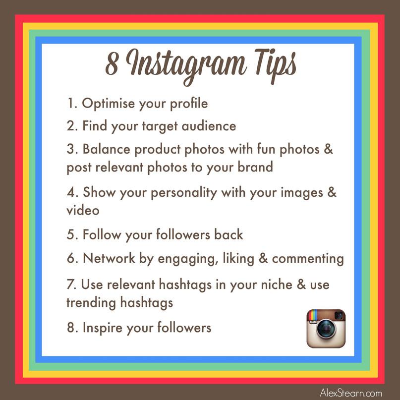 8 Power tips for Instagram