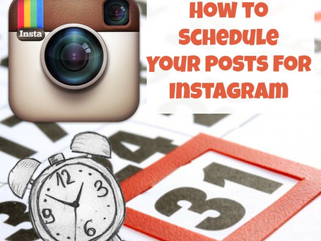 How to Schedule your Posts for Instagram