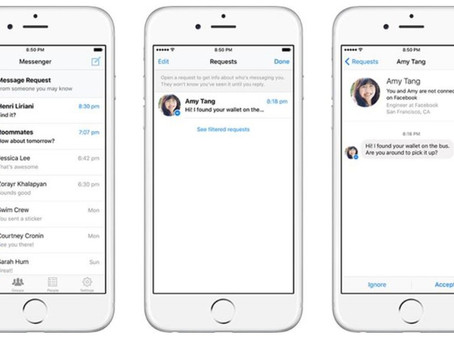 Facebook Introduces New Message Requests and Phases out the 'Other' Folder