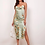Thumbnail: Lace up backless split dress