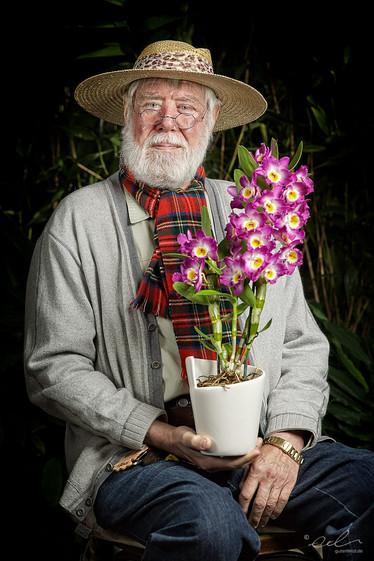 Manfred und seine Dendrobium nobile