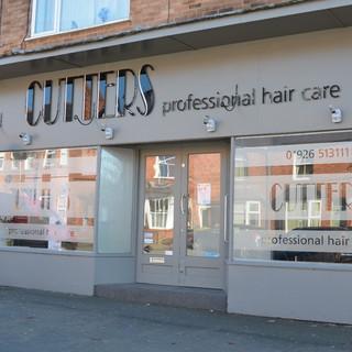 Outside Salon Cutters Hair Kenilworth