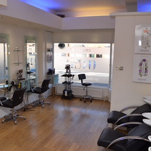 Inside Salon Clare Cutters Hair Kenilworth