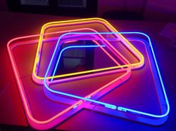enseigne neon cristal