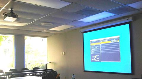 Classroom Projector & Screen