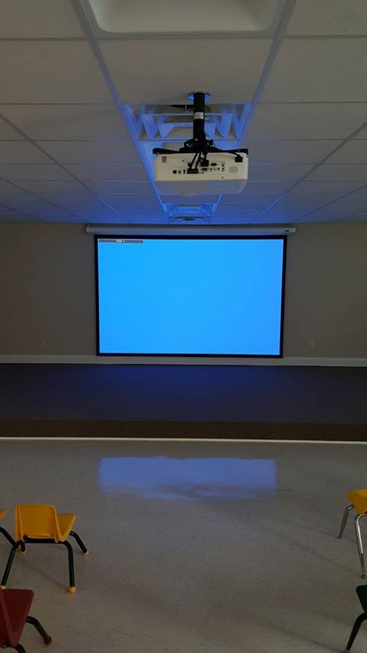 Projector & Screen Installation