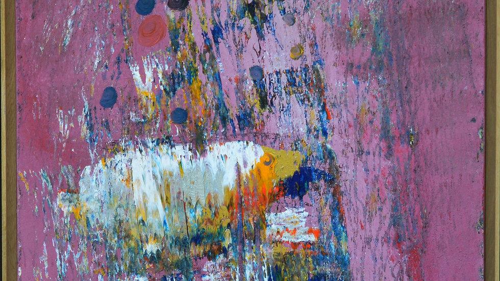 Acrylique sur toile 100/100 cms