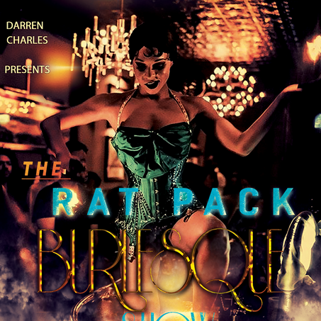 The Rat Pack Burlesque Show Flyer 2