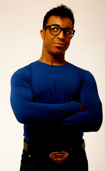 Darren Charles as Black Superman