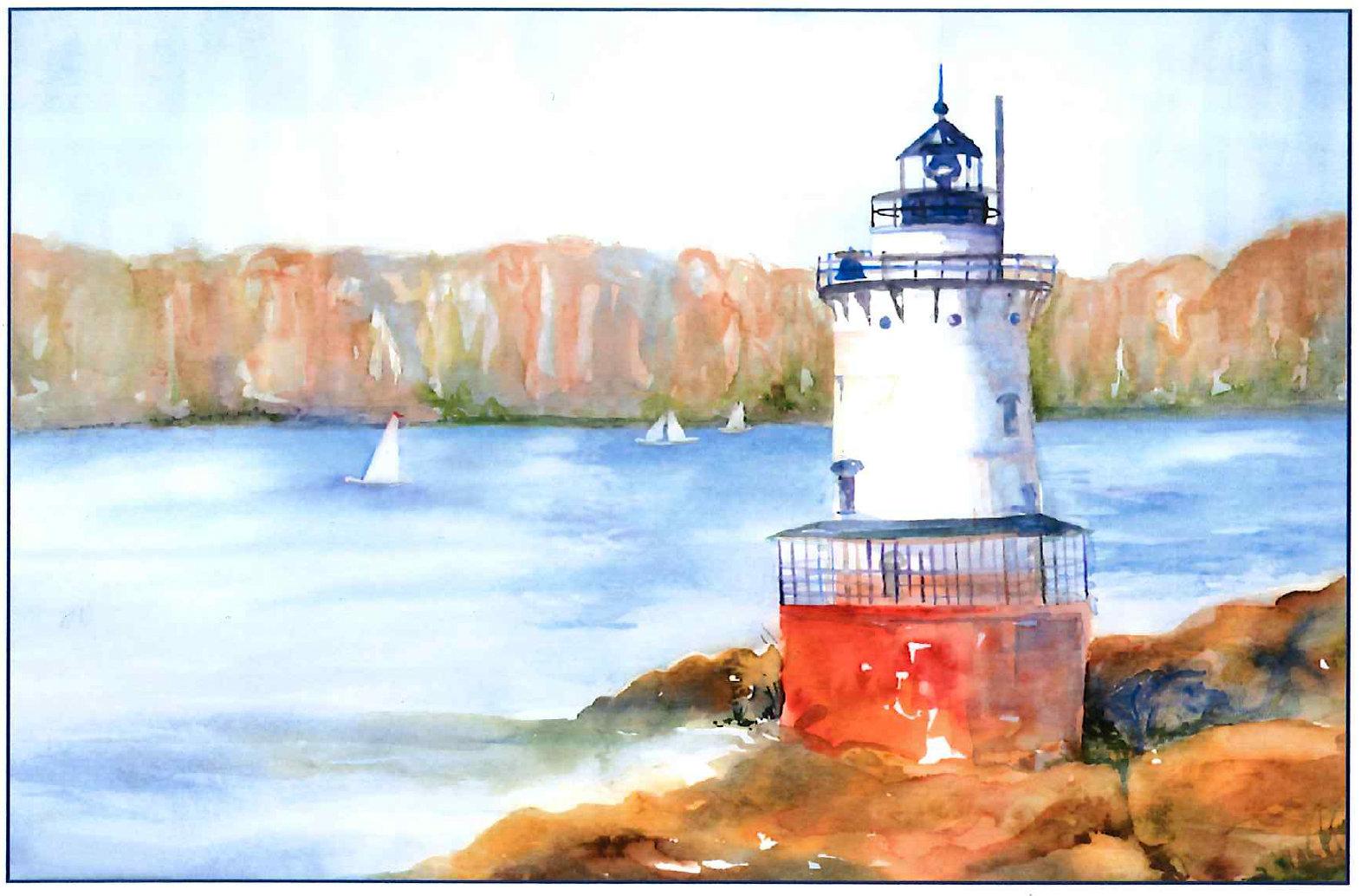 Lighthouse   Virginia Donovan Fine Art