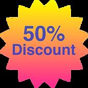 50% Startup Discount