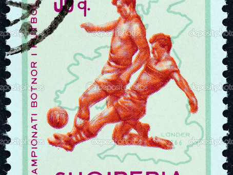 Footy Stamp Maps