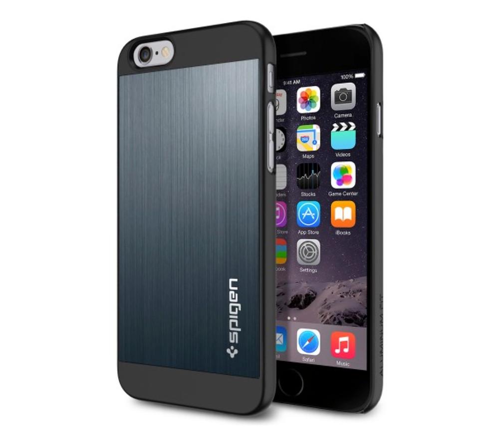 Spigen SGP iPhone 6 Aluminium Fit Case 1.jpg