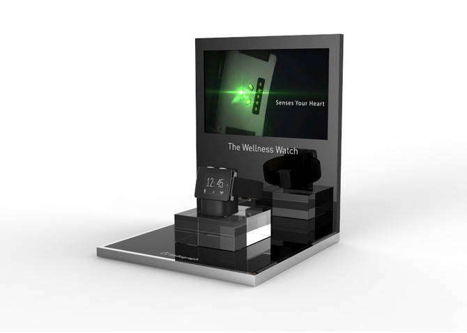 First Look : Wellograph Gorgeous Point-of-Sale Display !