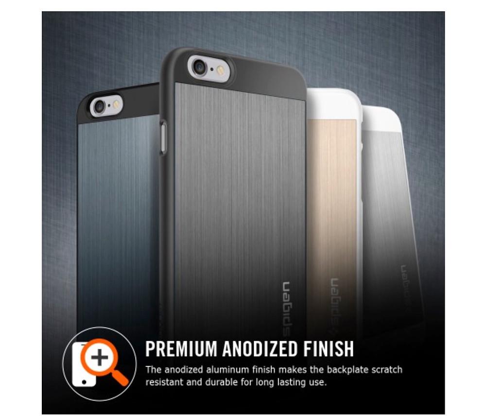 Spigen SGP iPhone 6 Aluminium Fit Case 2.jpg
