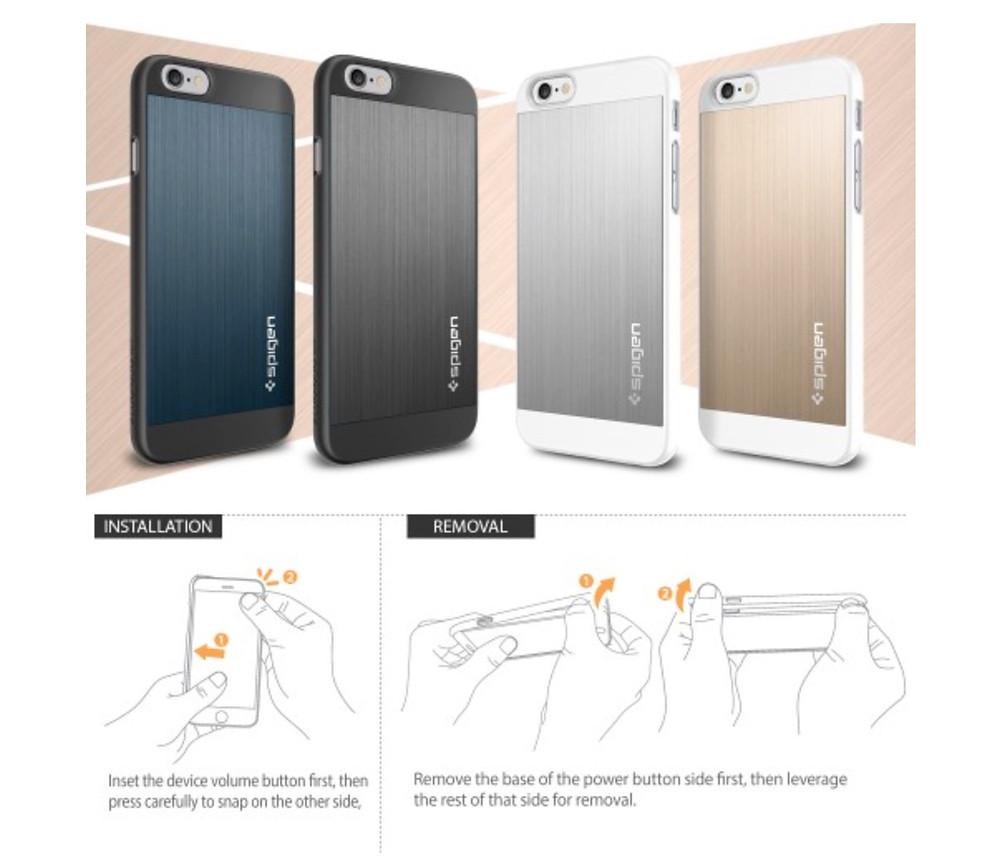 Spigen SGP iPhone 6 Aluminium Fit Case 3.jpg