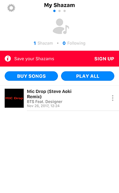 How to: Shazam   BTS in the U S    BTSx50States