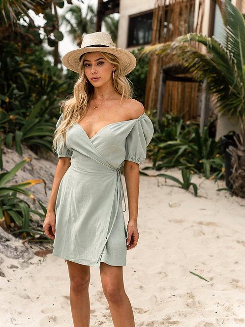 MEGAN WRAP DRESS