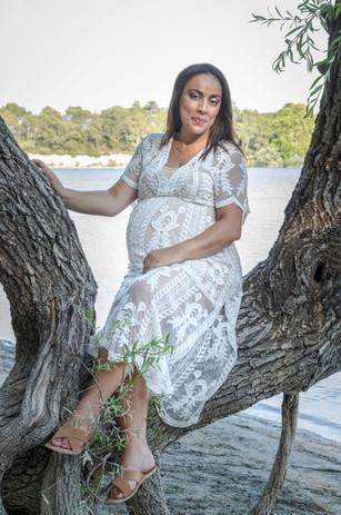 Photo de grossesse Etang de La Bonde