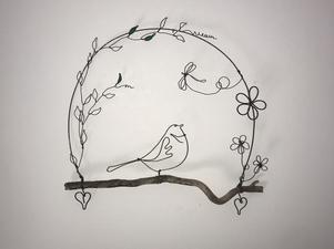blog autour du fil de fer & artisanat d'art
