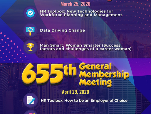 PMAP General Membership Meeting on March and April 2020