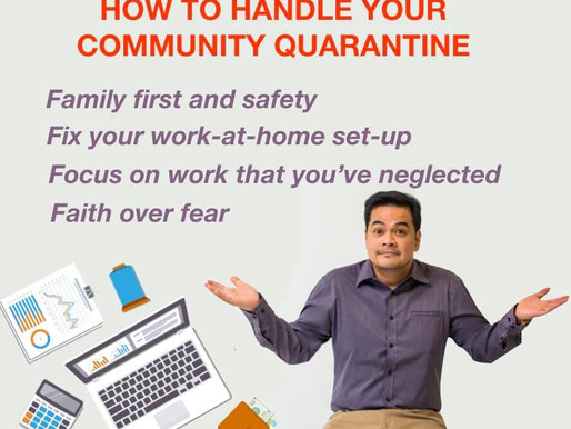 Editor's Insight: How To Handle Your Community Quarantine