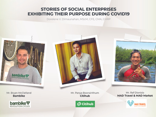 Stories of Social Enterprises Exhibiting their Purpose During COVID-19