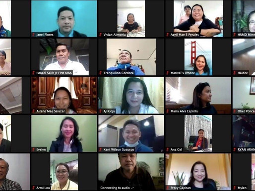 """Project """"Gear-Up PMAP Mindanao"""" Virtual Learning Series Ends Well"""