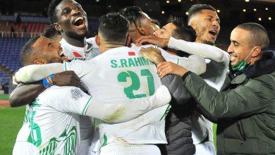 الرجاء يتأهل لنهائي كأس محمد السادس