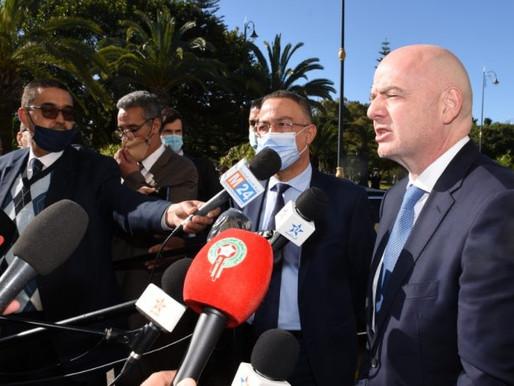 رئيس الفيفا يشيد بالمغرب