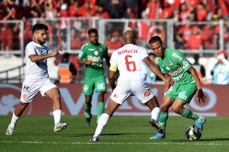 البطولة المغربية تتراجع