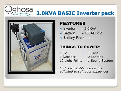 2KVA BASIC INVERTER PACK