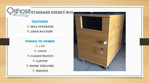 STANDARD ENERGY BOX